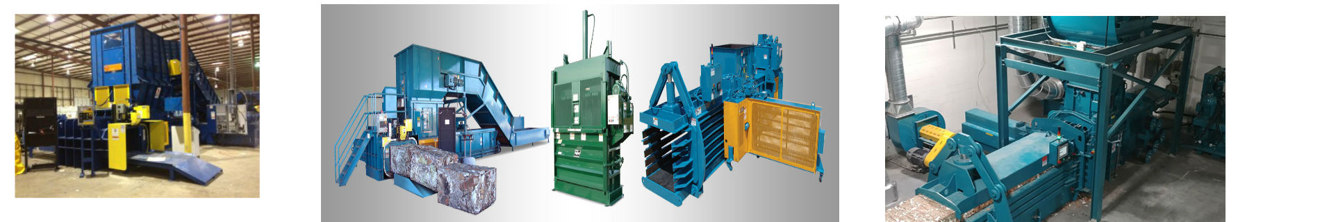 Industrial Balers banner