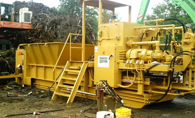 Industrial Metal Baling Machine