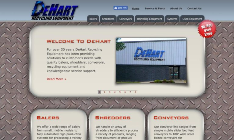 DeHart Recycling Equipment
