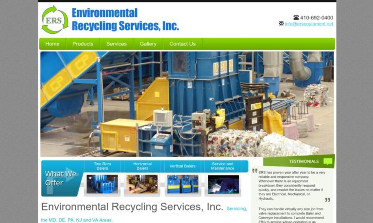 Environmental Recycling Services, Inc.