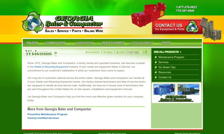 Georgia Baler and Compactor, LLC