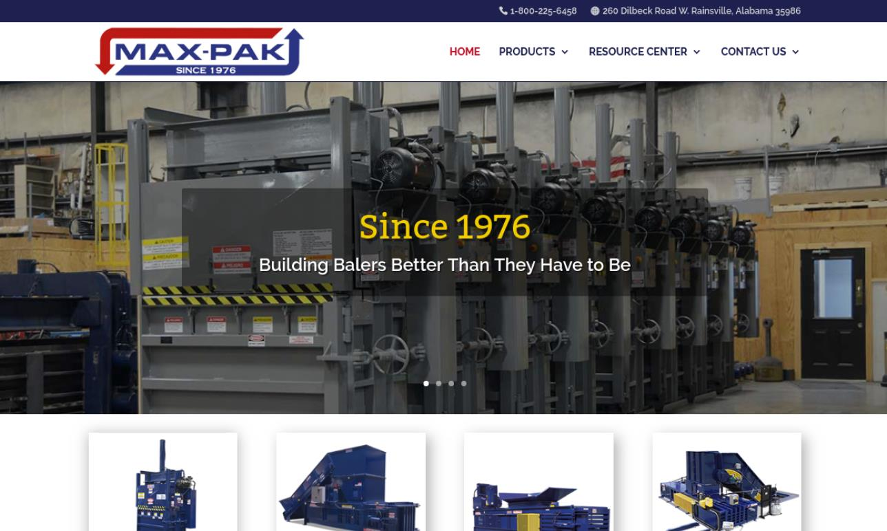 MAX-PAK Waste Processing Equipment, Inc.