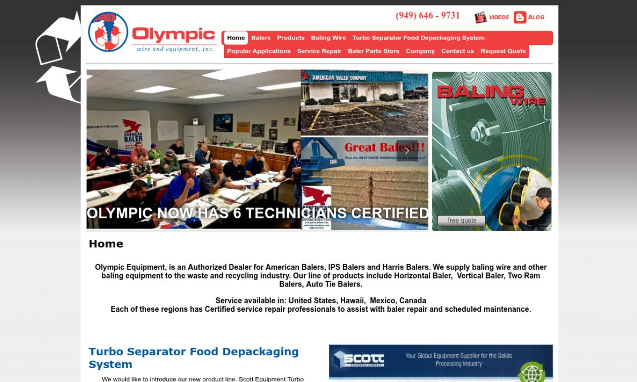 Olympic Wire & Equipment, Inc.