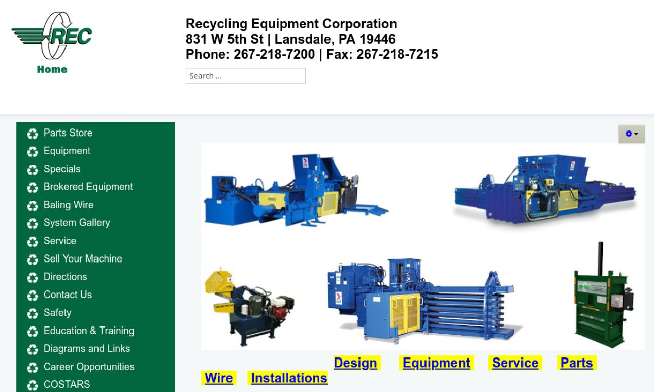 Recycling Equipment Corporation