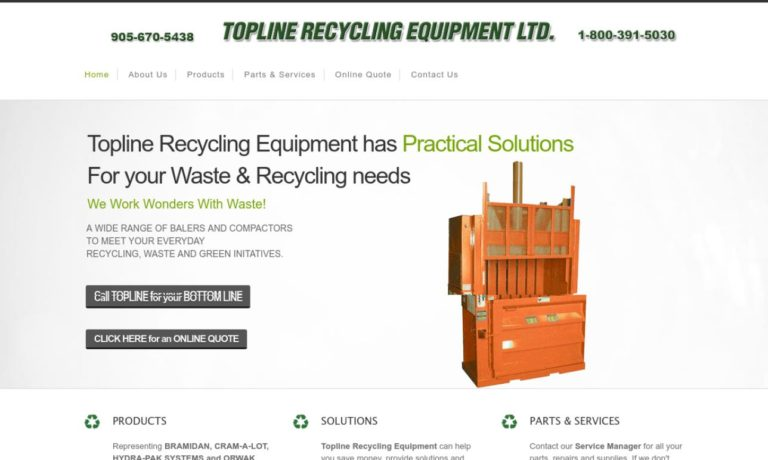 Topline Recycling Equipment, LTD