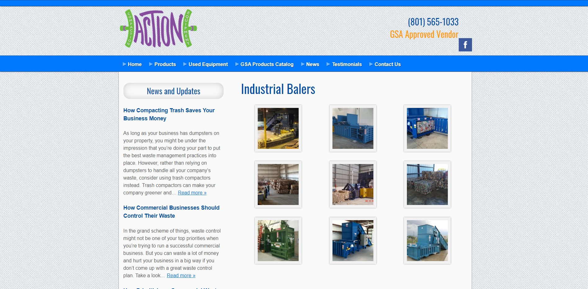 Action Compaction Equipment